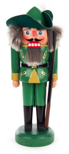 nutcracker hunter 27 cm green
