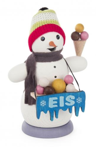 smoker snowman icecream
