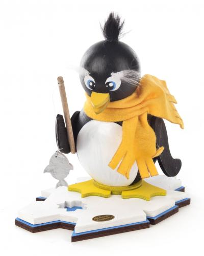smoker penguin fisherman