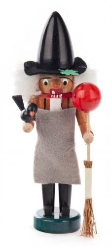 mini nutcracker Halloween witch