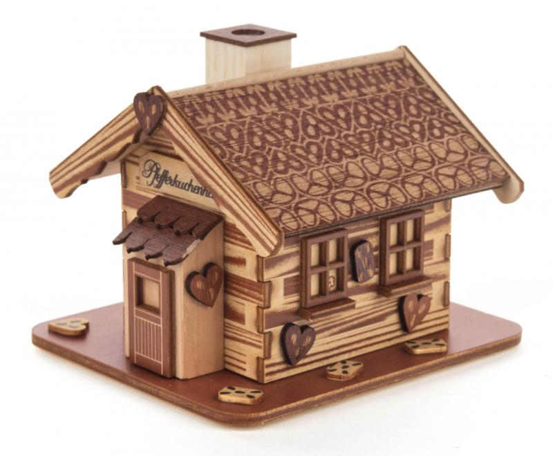 smoker house gingerbread house