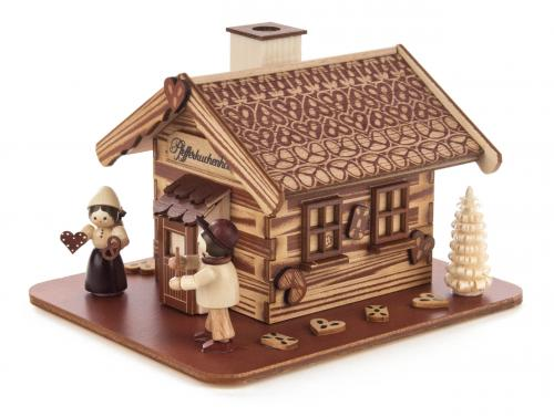 smoker house gingerbread with Hänsel and