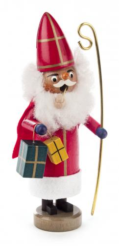 Mini-Räuchermann St. Nikolaus