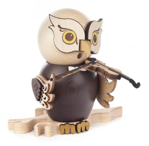 smoker owl with violine
